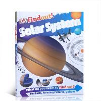 【全店300减100】英文原版 DK findout! Solar System 太阳系 DK发现知识系列 儿童英语启蒙