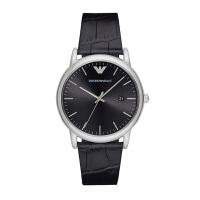 阿玛尼(Emporio Armani)手表 时尚休闲皮带石英时尚腕表男士腕表 AR2500