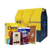 进口零食大礼包礼盒 *聚会圣诞礼物屯年货 巧克力糖果坚果早餐麦片