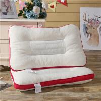 助睡眠乳胶枕头枕芯橡胶记忆枕单个装学生颈椎护颈枕48*74cm