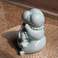 莲花现代中式佛摆件 吉祥富贵创意装饰品 家居装饰礼品