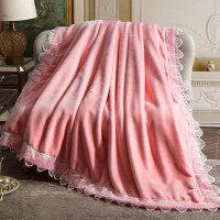 珊瑚毛绒毯子冬季用加厚法兰绒拉舍尔毛毯加绒床单人保暖双层被子 双人200x230cm(时尚双层加厚 约6斤)