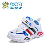 大黄蜂宝宝鞋男童鞋子1-6岁2019新款婴儿学步女童透气幼儿运动鞋