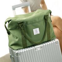 可折叠旅行袋 大容量手提收纳袋旅游行李包短途轻便 可套拉杆箱