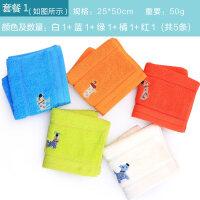 (5�l�b)�棉小毛巾全棉�和�洗�毛巾柔�情�H吸水可�勖娼�
