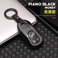 专用于17款别克新君威钥匙包新款GL8君越昂科威GL6金属钥匙套扣壳