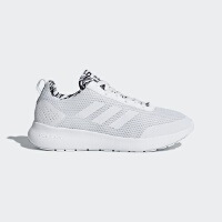 adidas阿迪达斯2018新款女子网面透气轻便运动小白鞋跑步鞋DB1796