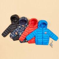 【全场2件2.5折,到手价:64.8】美特斯邦威旗下moomoo童装儿童棉服新款冬装洋气连帽恐龙中大童外套