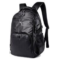 七匹狼双肩包男女休闲大容量电脑学生书包 新款商务男士旅行背包
