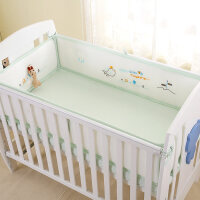 儿童婴儿床床围套件四季通用夏季透气网防撞围新生儿宝宝床上用品a395