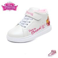 暇步士Hush Puppies童鞋漆面儿童皮鞋纯色女童时装鞋学生休闲鞋 (6-12岁可选) DP9195