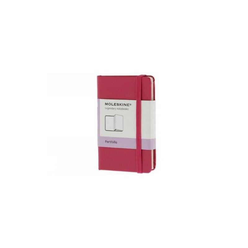英文原版 Moleskine Dark Pink Extra Small Portfolio Hard