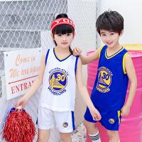 儿童篮球服套装男童女童宝宝球衣小学生训练服男夏季幼儿园表演服