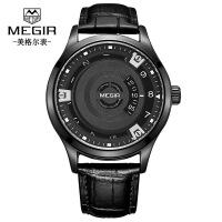 男士手表 新款创意无指针石英男表简约时尚大方新奇特手表