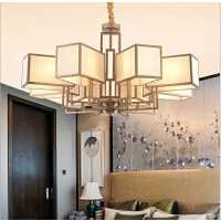 家亮新中式吊灯客厅餐厅灯具禅意复古灯中国风酒店别墅复古吊灯MD18