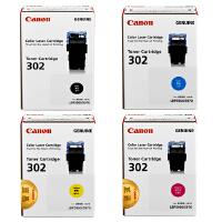 佳能原装正品 CRG-302硒鼓墨粉盒 BK黑色 C青色 M品红色 Y黄色 佳能Canon LBP5960彩色激光打印机