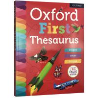牛津儿童近义词图解字典 英文原版工具书 Oxford First Thesaurus 英英字典 英语单词学习 英文版进口书籍 正版