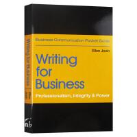 商务写作 英文原版 Writing for Business Professionalism Integrity Po