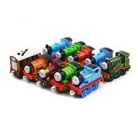 合金磁性托马斯小火车玩具套托马斯爱德华詹姆斯托比哈罗德 抖音