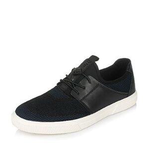 Teenmix/天美意2017春专柜同款织物/软面牛皮平跟男休闲鞋BFT02AM7