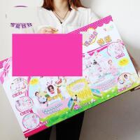 ?芭比娃娃套装大礼盒别墅城堡仿真过家家女孩公主玩具儿童生日礼物?