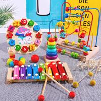 儿童绕珠串珠早教玩具婴儿6-12个月男孩宝宝益智0-1-2岁3周岁女孩