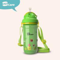 幼儿园宝宝水杯儿童重力球吸管杯防漏学饮杯小学生喝水杯a217