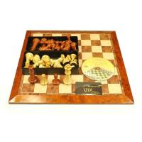 正品ub友邦特大号磁性国际象棋 磁性棋子 送教材,仿木纹棋子,特大号磁性国际2906