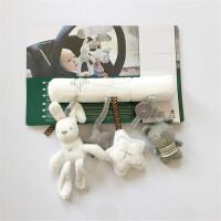 ?萌兔子音乐推车挂床挂摇铃婴儿安抚玩具宝宝床铃? 1_萌萌兔子【床铃车挂件】
