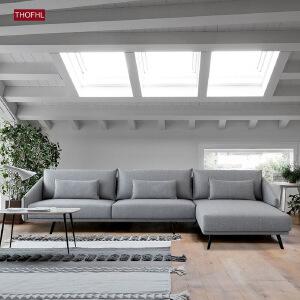 N空间 超感北欧沙发设计师款W1875 组合沙发转角沙发牛皮沙发羽绒沙发乳胶沙发