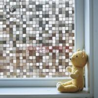 遮光窗户玻璃贴膜静电3d立体浴室卫生间卧室窗花透光不透明窗贴纸