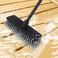 硬毛清洁刷长柄简约多用地板刷浴室刷户外地面地毯刷卫生间瓷砖洗地刷