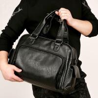 2018新款时尚男包旅行包手提包单肩斜挎包电脑包包男士包潮流