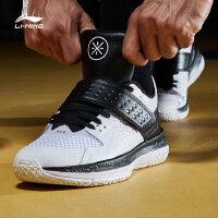 李宁篮球鞋男鞋韦德系列战铠2018新款耐磨防滑男子鞋子男士运动鞋ABAN059