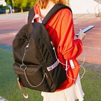 背包男旅游休闲电脑韩版时尚潮流高中学生书包女旅行双肩包防泼水