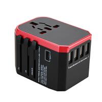 转换插头通用电源器日本港版多功能英标欧标德标美标旅行插座