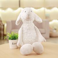 新品韩国卷毛绒绵羊公仔毛绒玩具绵羊玩具玩偶长腿小羊公仔