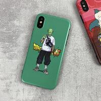 七龙珠比克苹果x手机壳迷彩xs max潮牌iPhone8软套7plus小丑6s男r