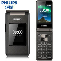 Philips/飞利浦E212A 翻盖老年手机 移动联通 持久待机老人手机大字大声大屏