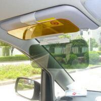 防远光灯汽车日夜两用防炫目夜视镜遮阳板太阳镜防眩光司机护目镜 图片色
