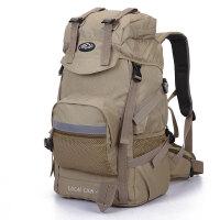 双肩包男休闲运动背包女大容量45L60L旅行背包户外登山包