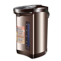 电热水瓶保温家用全自动5l大容量恒温水壶烧水壶 咖啡色