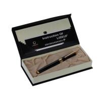 免邮英雄礼赞LISEUR系列产品998钢笔 铱金笔 墨水笔 男女士商务办公礼品 黑色 0.5mm