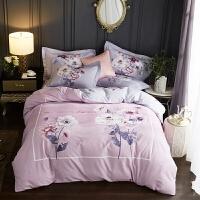 加厚全棉磨毛四件套女纯棉床单被套冬季1.5米1.8m床上用品