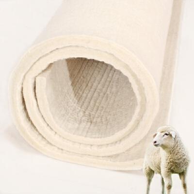 纯羊毛毡床垫子加厚手工防潮单双人炕垫羊毛床褥子炕毡子定做   高密度不变薄不变形 纯羊毛制作 赠送布套