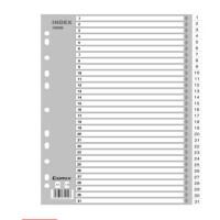 齐心(COMIX)IX899 易分类 月度索引纸 A4 31页(1-31) 11孔 PP
