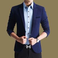 秋季休闲西服男士小西装男修身外套韩版上衣商务单西青年帅气潮流