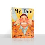 【包邮】MY DAD我爸爸英文原版绘本廖彩杏书单儿童宝宝早教启蒙亲子阅读撕不烂纸板书