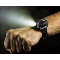 时尚便携强光手电筒腕表手电夜跑装备LED强光手表灯强光照明手表