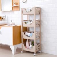 家居生活用品浴室置物架卫生间洗手间塑料架子厕所储物洗漱台收纳层架三角落地